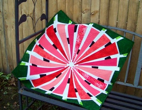 Attic Window Quilt Shop: WATERMELON IS GREAT FOR SUMMER : watermelon quilt - Adamdwight.com