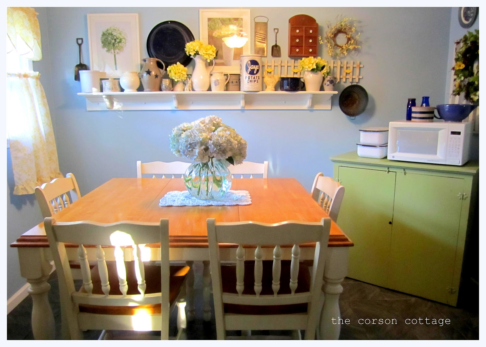 The Corson Cottage My Mom 39 S Country Cottage Kitchen For