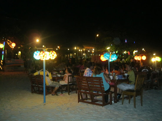 Restaurant on Koh Samet Island