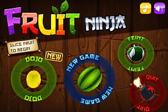 Meyve kesme oyunu