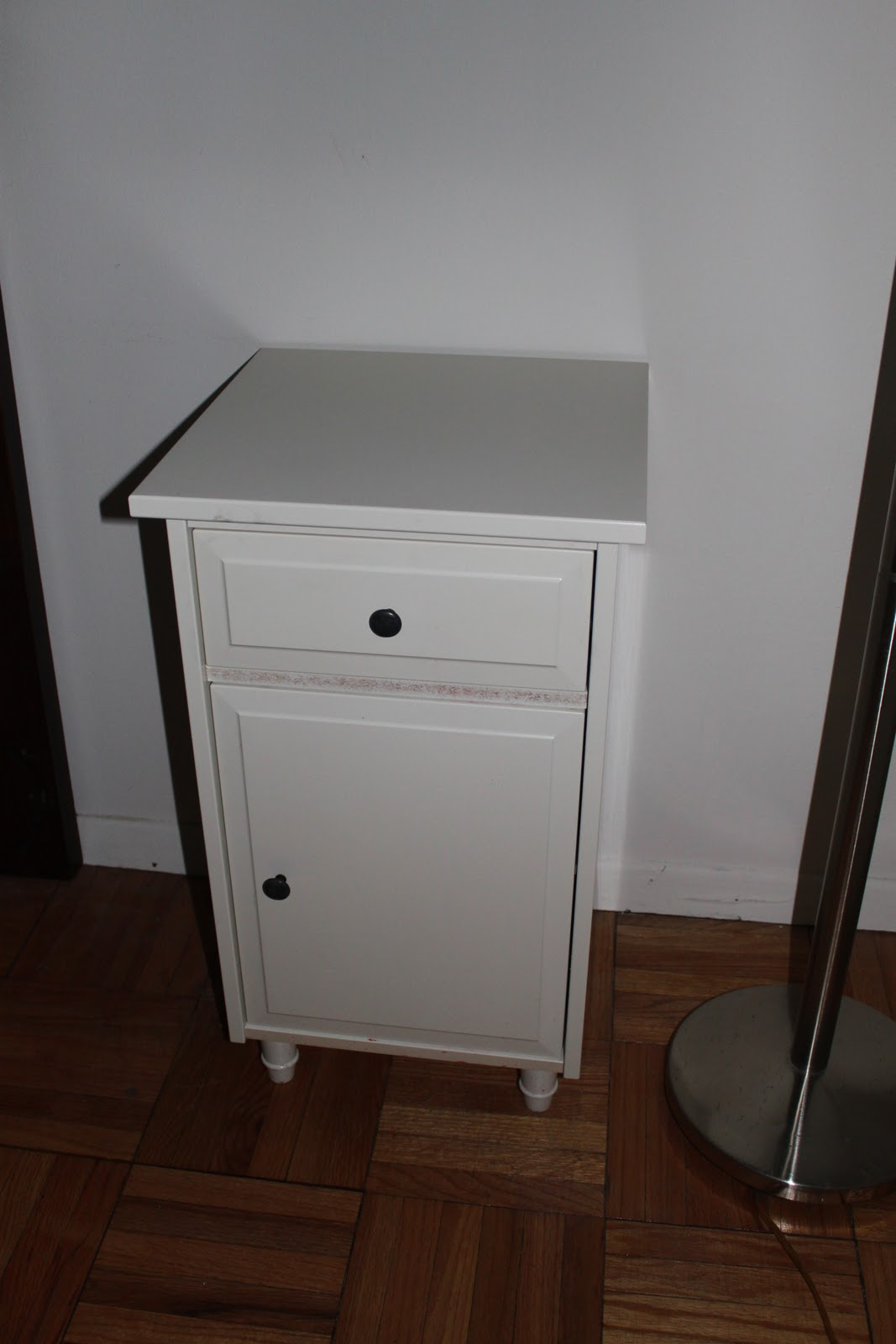 Dc moving sale february 2011 for Metal nightstand ikea