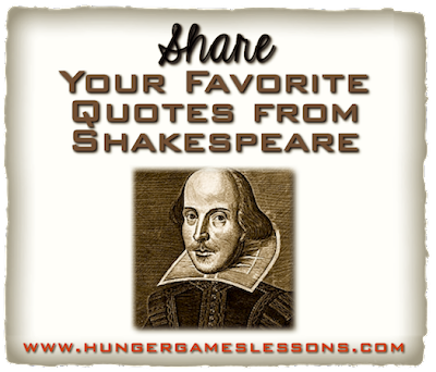 Share your favorite quotes from Shakespeare