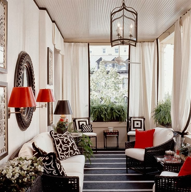 Eye For Design: Decorating Your Home With The Black/Red Combination