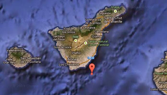 Terremoto sur Tenerife, 27 diciembre