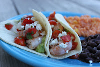 Mama's Latest Favorite ~ Baja Style Shrimp Tacos