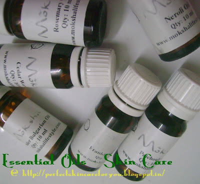 Essential Oils used in Skin Care