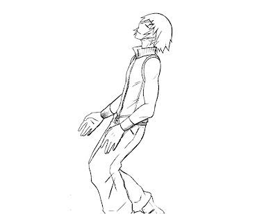 #7 Riku Coloring Page