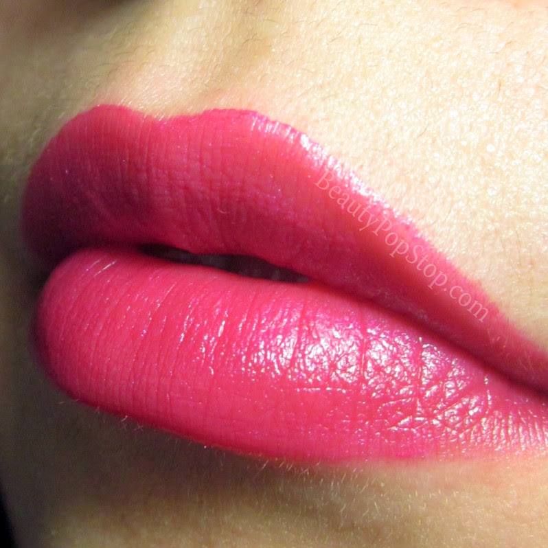 mac pink poodle lipstick review and swatch