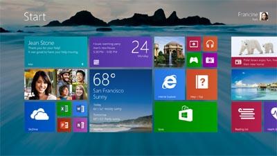 Ini Dia Bocoran Antarmuka Windows 8.1
