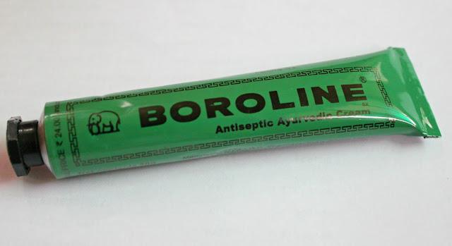 Boroline Antiseptic Ayurvedic Cream Review and Swatch