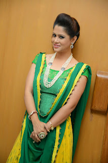 Anchor Shilpa Chakravarthy Latest Pictures at Taruvatha Katha Movie Trailer Launch  13.JPG