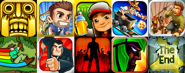 top ten game apps