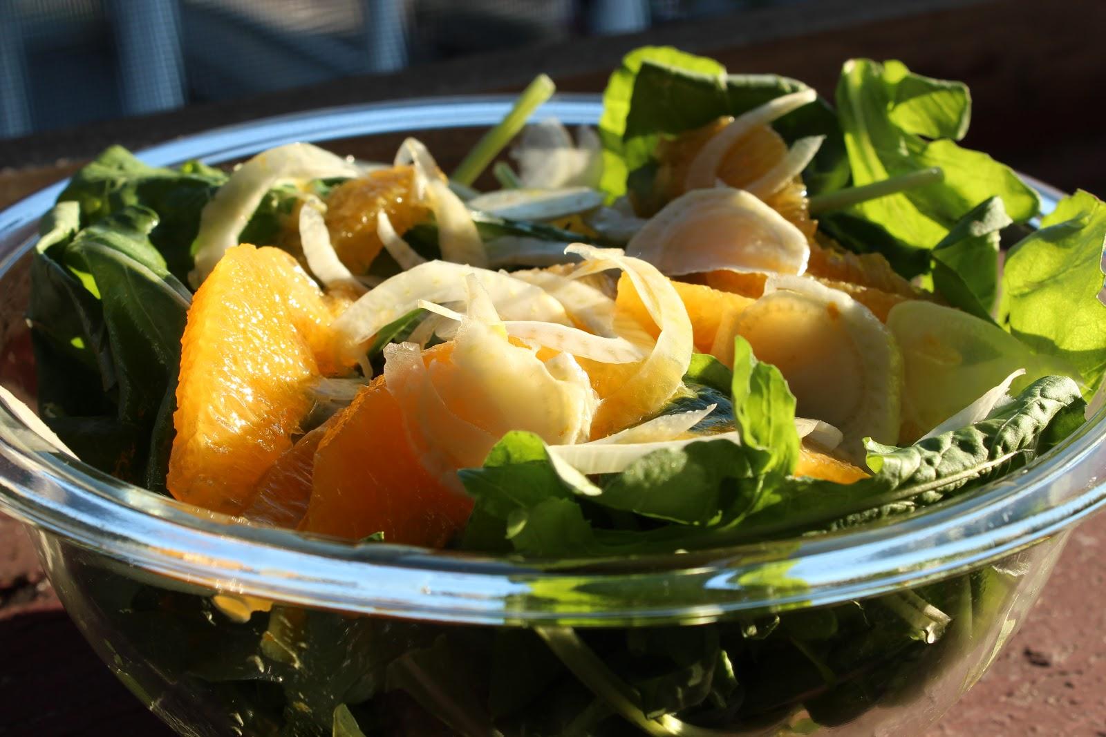 ... Farm: Arugula, Orange, & Fennel Salad with a Citrus Vinaigrette