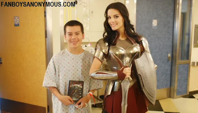 Thor Lady Sif actress Jaimie Alexander charity cosplay