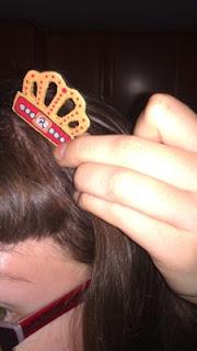 DIY corona como accesorio pelo