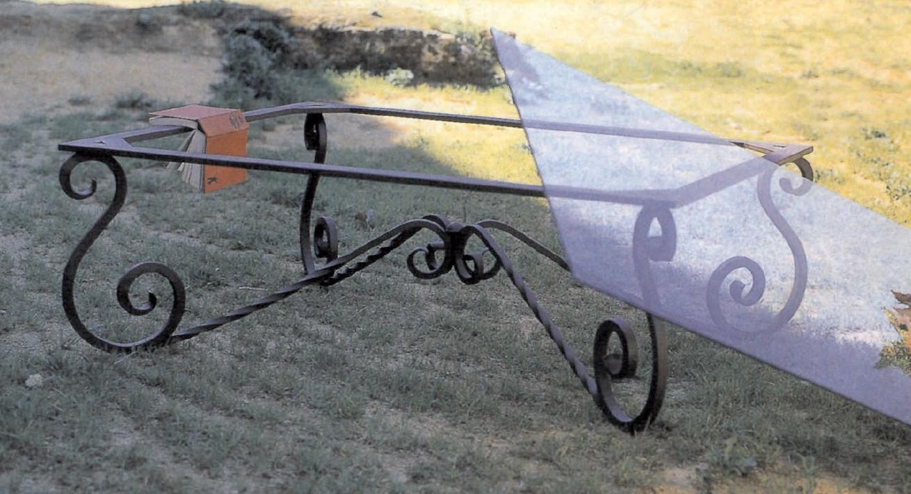 Forja manuel jimenez mesas y sillas - Colgadores de hierro forjado ...