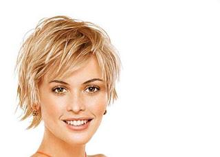 Potongan Rambut Pendek untuk Rambut Tipis