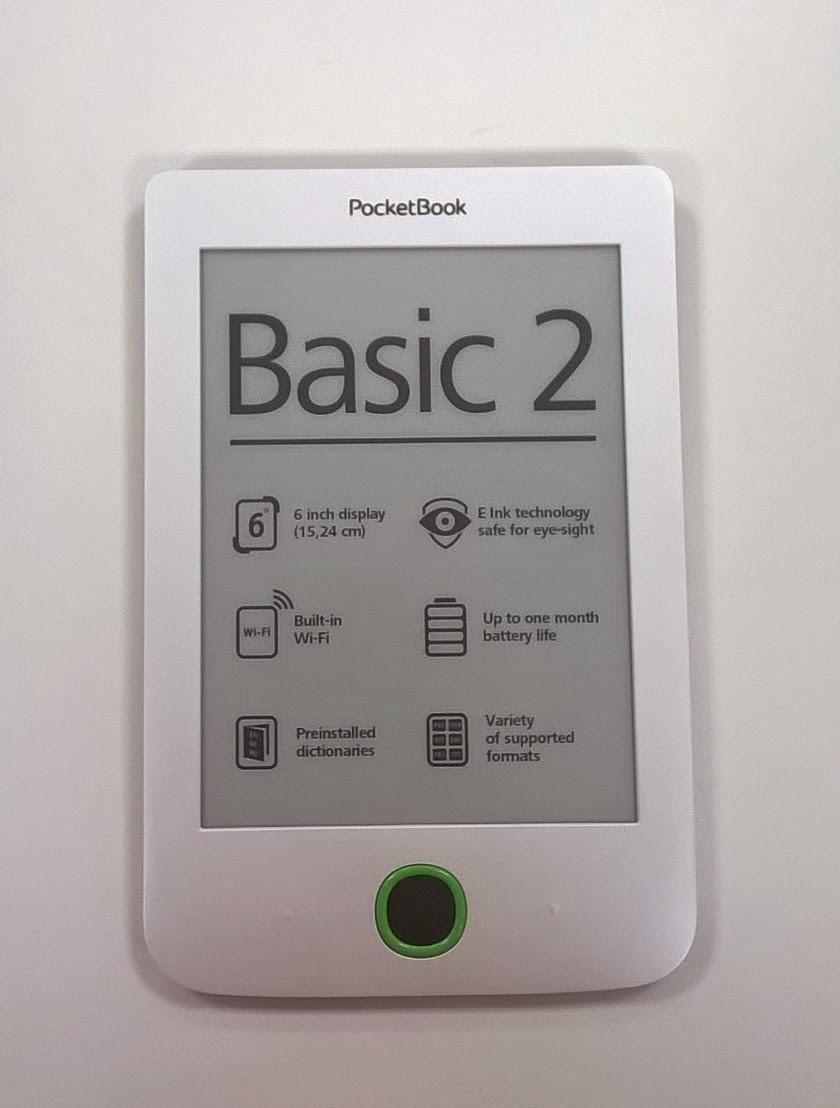 Recenzia PocketBook Basic 2