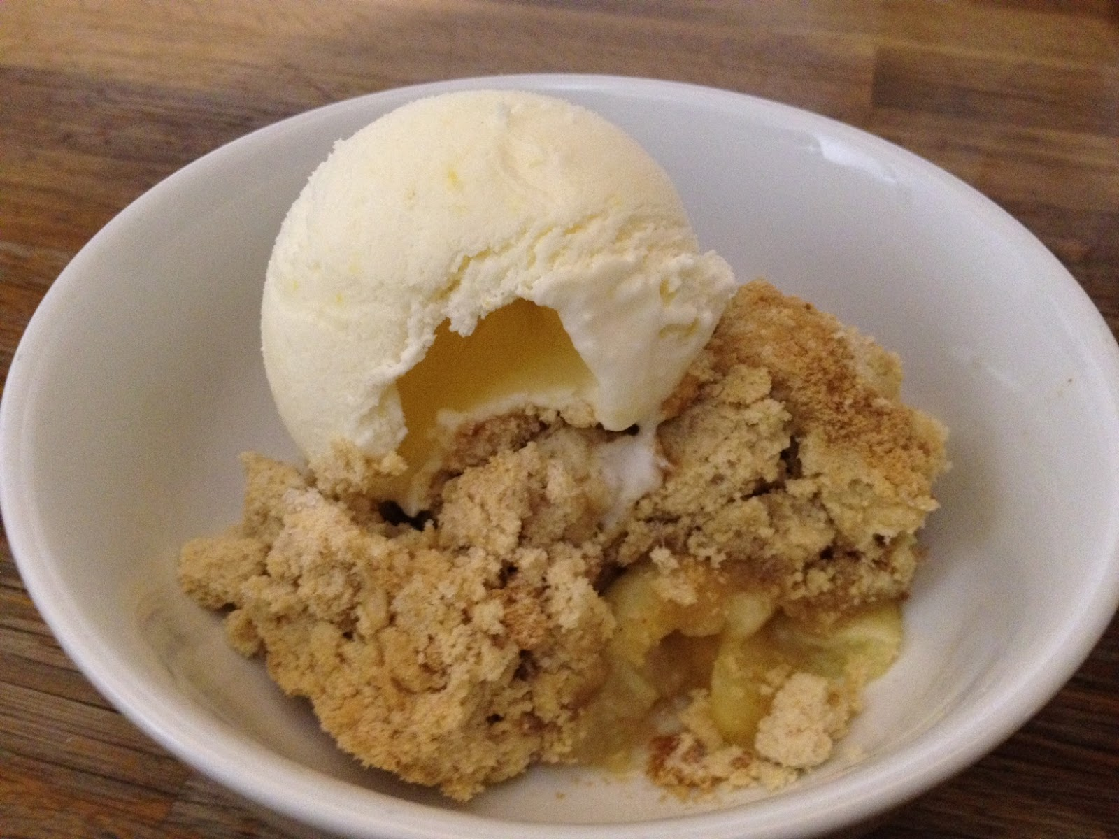 on how to make apple crumble once the crumble is ready homemade apple ...