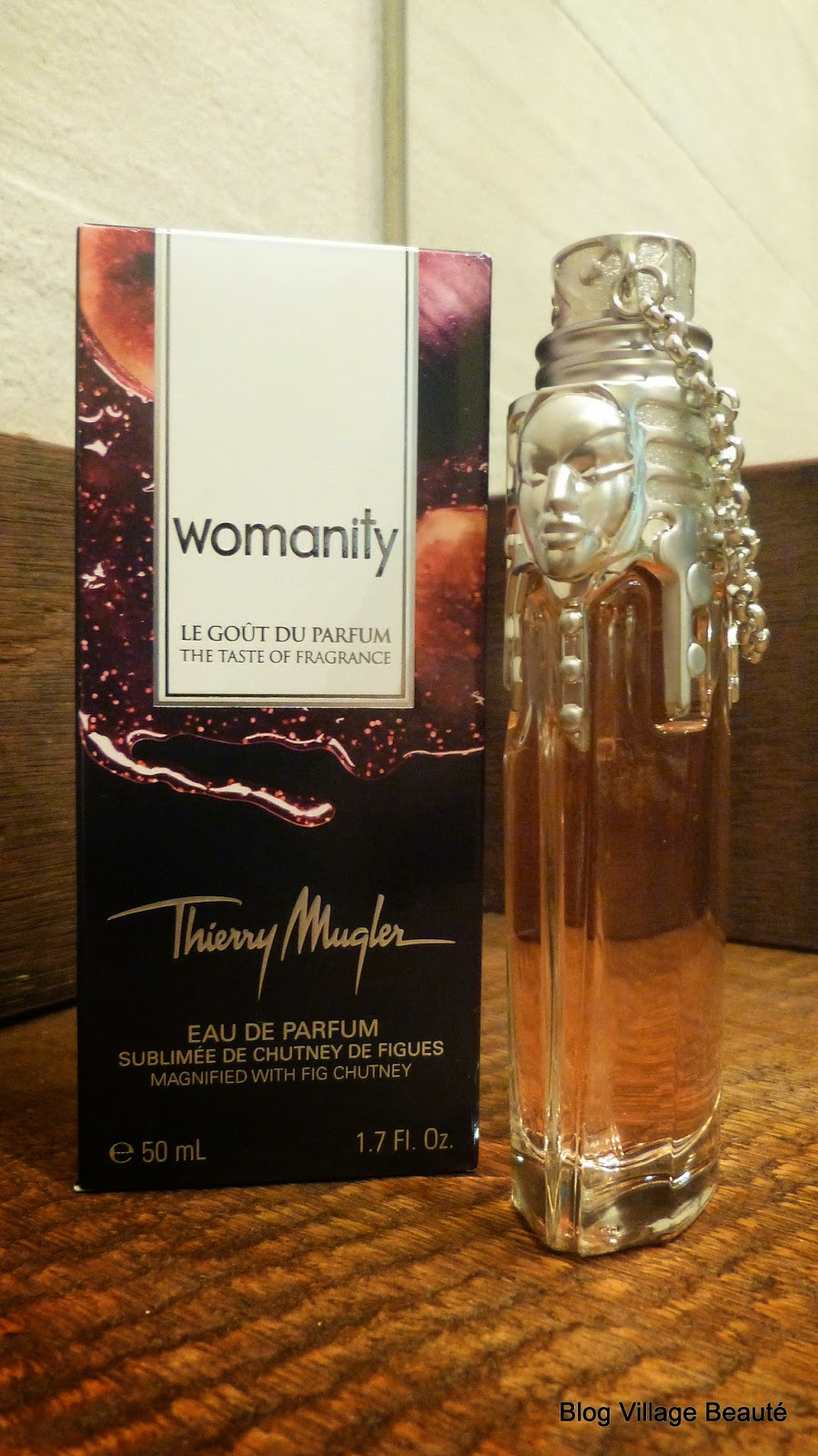 WOMANITY LE GOUT DU PARFUM