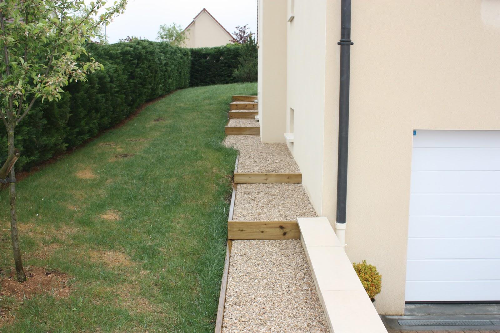 Jardins secrets terrasses bois for Amenagement autour maison