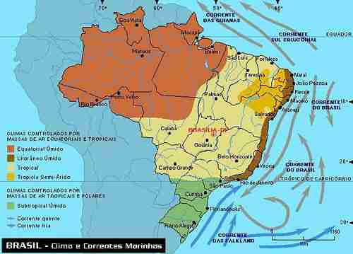 mapa do brasil. mapa do rasil por regioes.