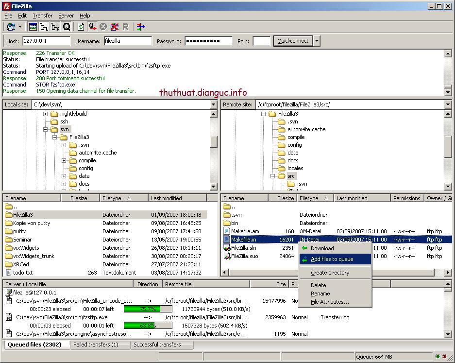 Download FileZilla full mới nhất – phần mềm FTP hàng đầu