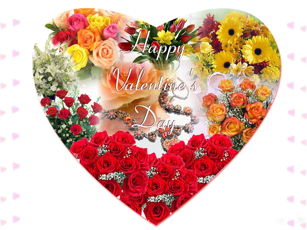 Valentines day flowers flowers wallpapers - Valentine s day flower wallpaper ...