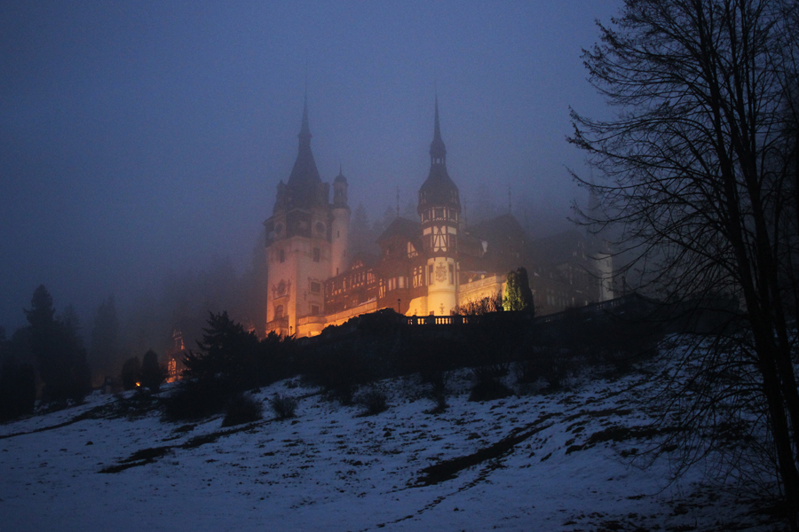 Transylvanian Christmas Peles Castle Sinaia Romania