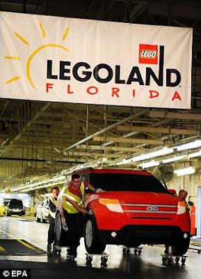 Ford Explorer Dari Lego