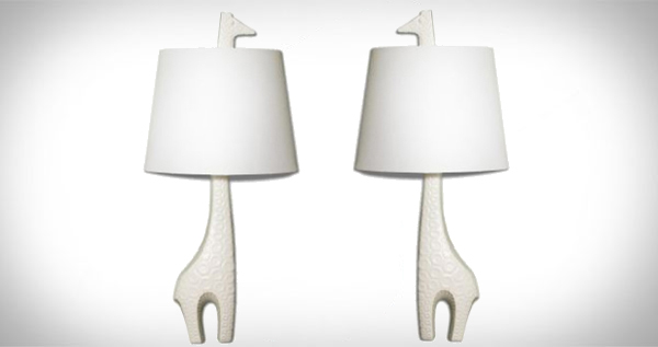 Jonathan Adler  Facing Giraffe 1 Light Wall Sconce