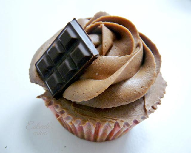 receta de cupcakes de almendra con buttercream de chocolate - 1