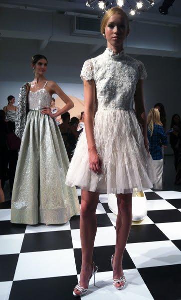 alice olivia spring 2013 bridal wedding gowns deal bridal and wedding prom. Black Bedroom Furniture Sets. Home Design Ideas