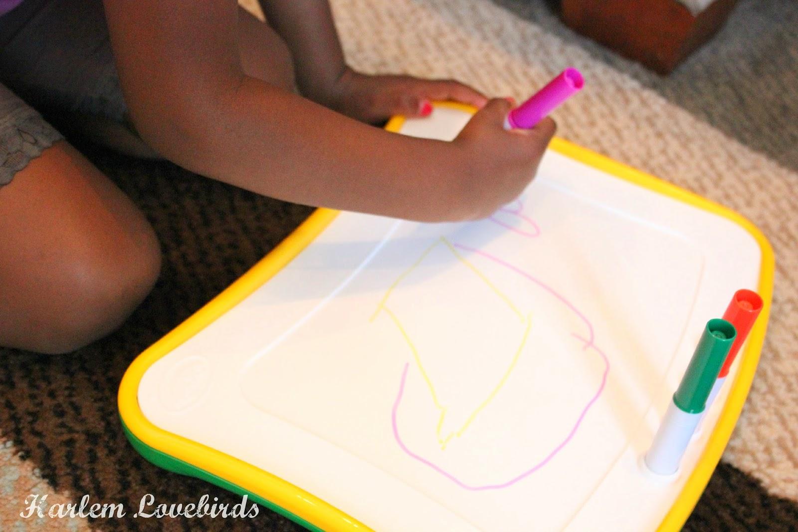 Harlem Lovebirds Getting Creative On The Go With Crayola