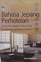 toko buku rahma: buku BAHASA JEPANG PERHOTELAN, pengarang isa wahjoedi, penerbit andi