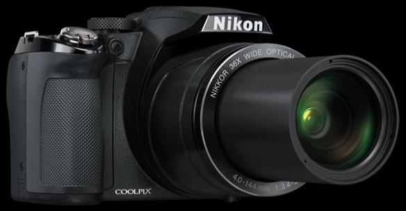 Nikon Coolpix P500 zoom quang 36X