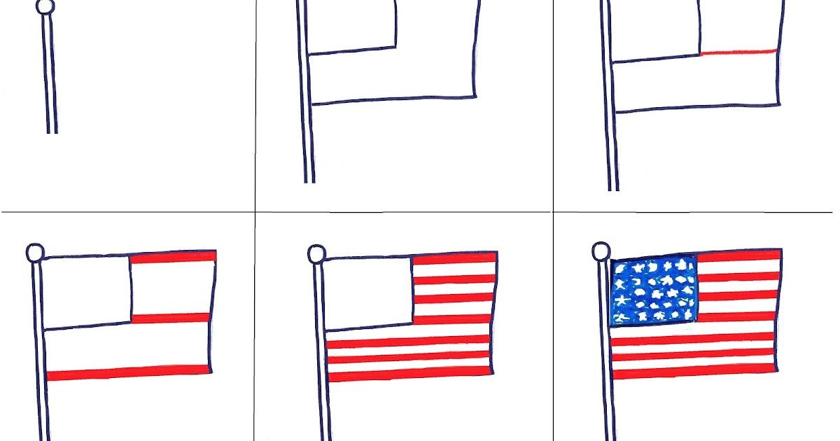 Art Class Ideas: 1st Grade Flags: http://artclassideas.blogspot.com/2012/11/1st-grade-flags.html