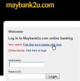 How to change maybank2u username