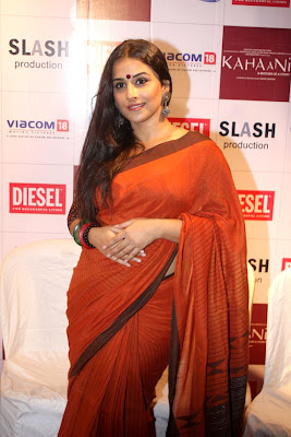 vidya balan at kahaani dvd launch hot images