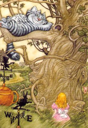 Ni a bella alicia en el pa s de las maravillas - Conejo de alicia en el pais de las maravillas ...