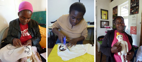 Safari Fusion blog | Lanvin Designing Hope | Hand embroidered dolls from Swaziland