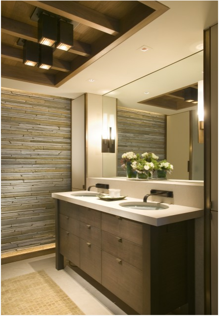 Modern bathroom design ideas room design ideas for Rustic modern bathroom ideas