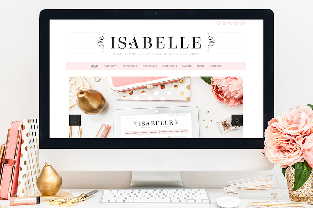 download Isabelle - Creativemarket WordPress Theme