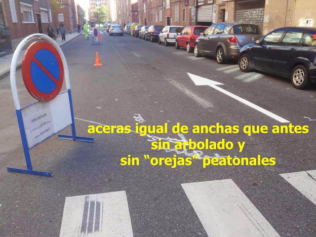 acera, zona peatonal, oreja peatonal, salamanca, carril bici salamanca