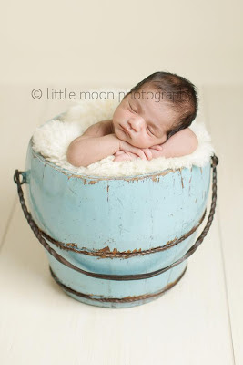 Newborn photography - Little Moon Photography