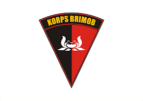 Korps Brimob Logo Vector download free