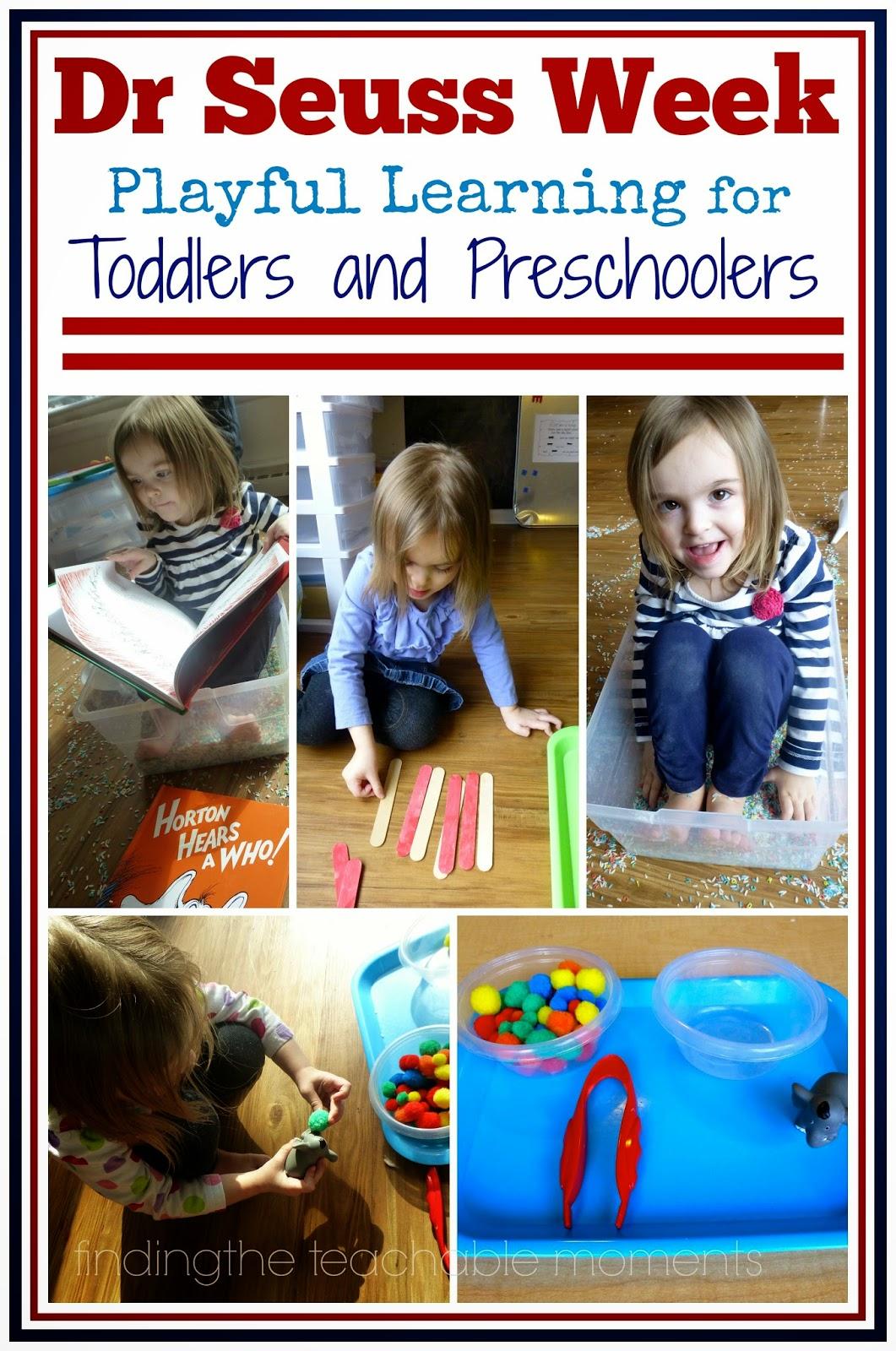 Preschool Dr. Seuss Week