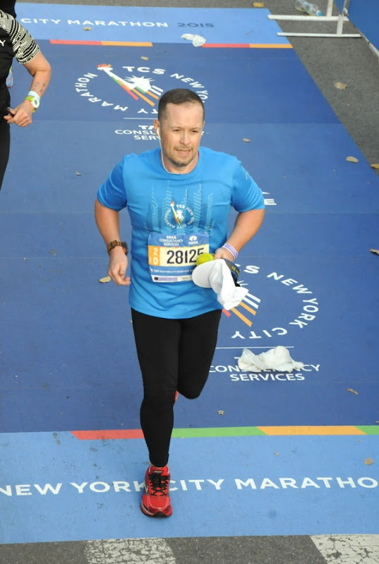 Running 2015 New York Marathon