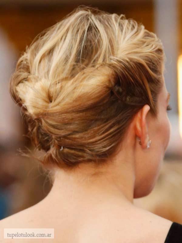 peinados recogidos 2015