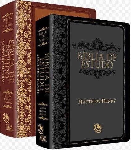 imagem Bíblia de Estudo Matthew Henry